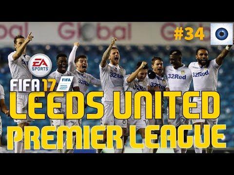 fifa 17 - Leeds United - Manager Career - Premier League - League Season - #34