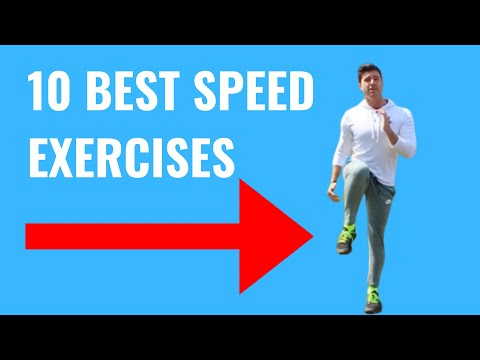 10 Explosive Speed Training Exercises That Athletes Can Do Anywhere! (EXACT FAST TWITCH MUSCLES)