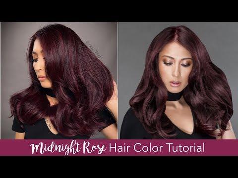 Midnight Rose Hair Color Tutorial