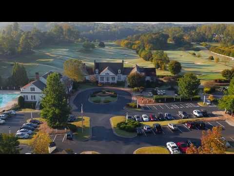 FlyWorx Aerial: Woodmont Country Club & Golf Course