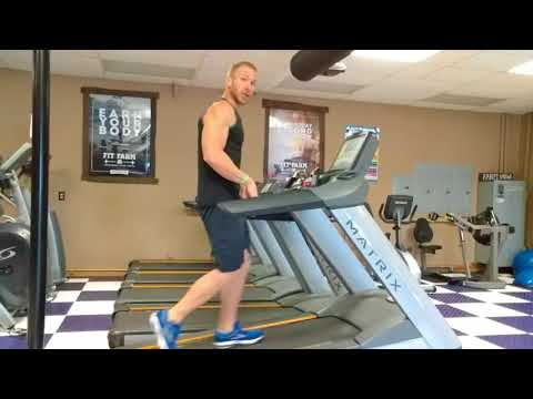 Trick to Incline Walking