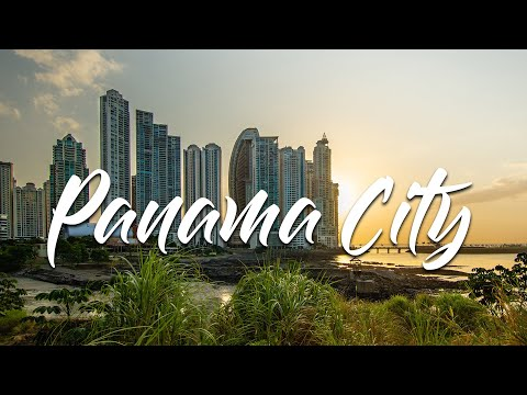 Panama City - Pacific Coast Skyline (HD)