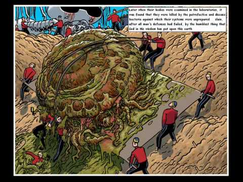 The War of the Worlds by Orson Welles - the comic/video ...