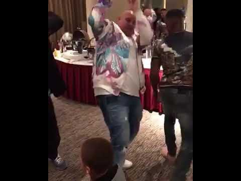 Fat Joe, Jamie Foxx & Amare Stoudamire Dancing to So Excited