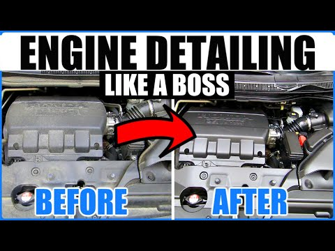 SAFEST Way To Clean Your Engine Bay Without Water!
