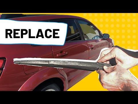 Replace Rear Wiper – Pontiac Vibe & Toyota Matrix