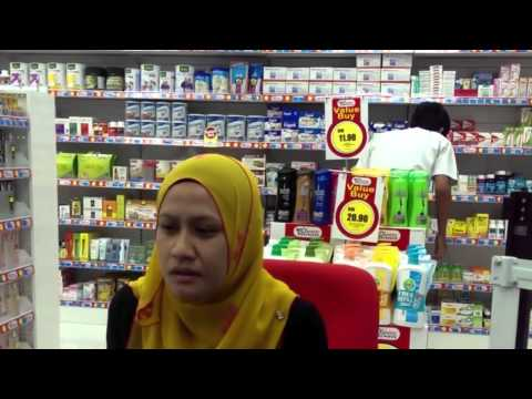 Dapotic Pharmacy Malaysia Kulai Branch Customer Testimonial