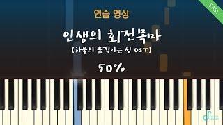 [피아노연습 50%] 인생의 회전목마(Merry Go …