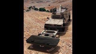 Новая израильская система обнаружения мин | Мобильный комплекс поиска придорожных мин Израиля