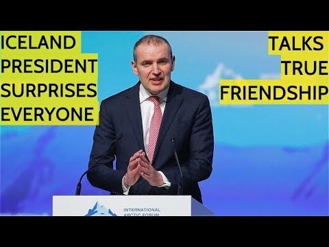 SURPRISE! Iceland President Starts Talking Russian To Putin and Other Participants At Arctic Forum