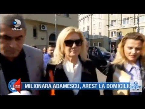 Stirile Kanal D (11.10.2018) - Milionara Adamescu, arestat la domiciliu! Editie COMPLETA