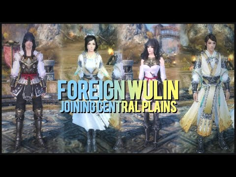 Age of Wushu • Foreign Wulin • Joining Central Plains (Story Choice)