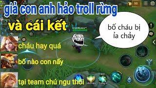 Troll Game - Giả Con Anh Hảo Troll Team Bạn Và Phản Ứng Hài Hước Của Mọi Người