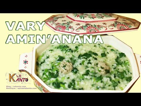 Vary Amin'anana   Recette Malgache   Soupe Au Riz
