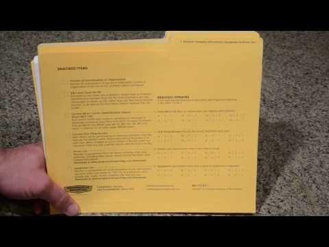 DOT Audit Checklist - Progressive Reporting