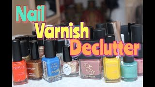 Decutter With Me: Nail Varnish 💅🏾  ** B Beautiful by Binita **