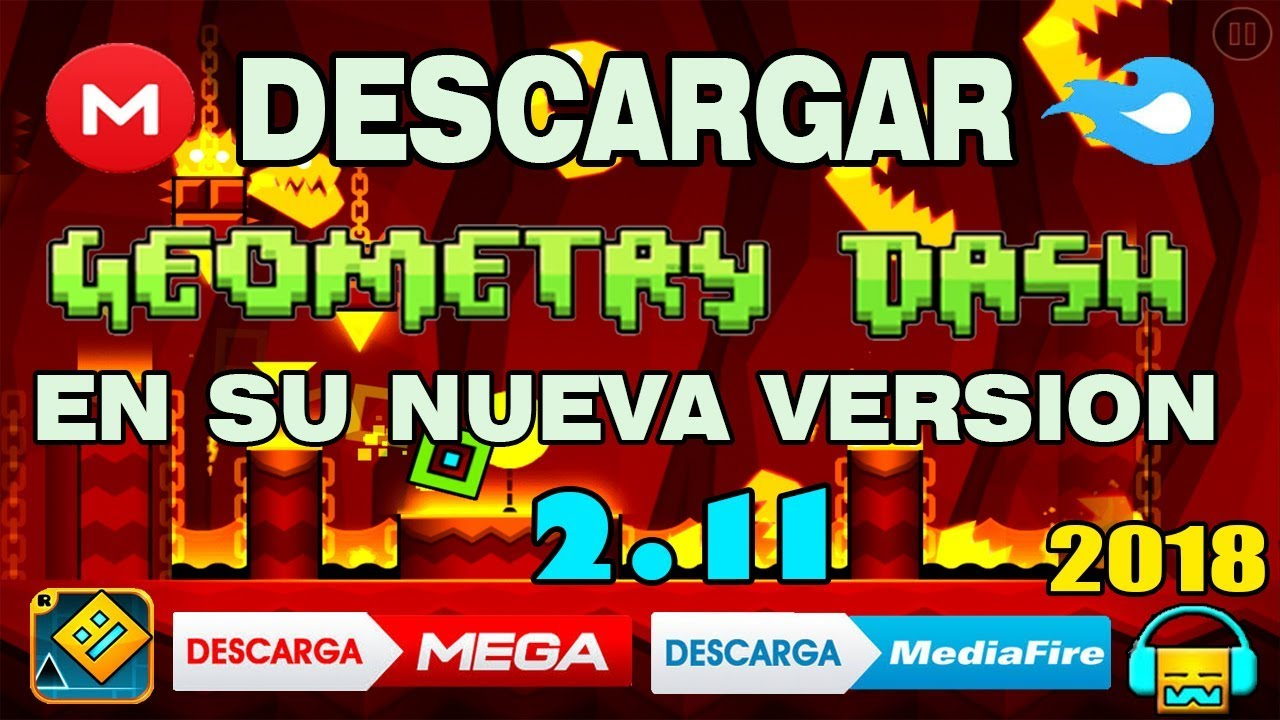 descargar geometry dash ultima version 2019 pc