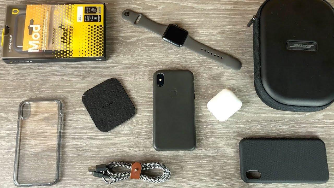 Tous mes accessoires pour iPhone X !