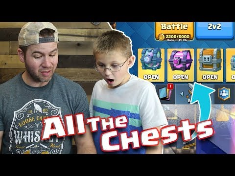 UNLUCKY SON Opens ALL MY CHESTS! Clash Royale - LEGENDARY CHEST