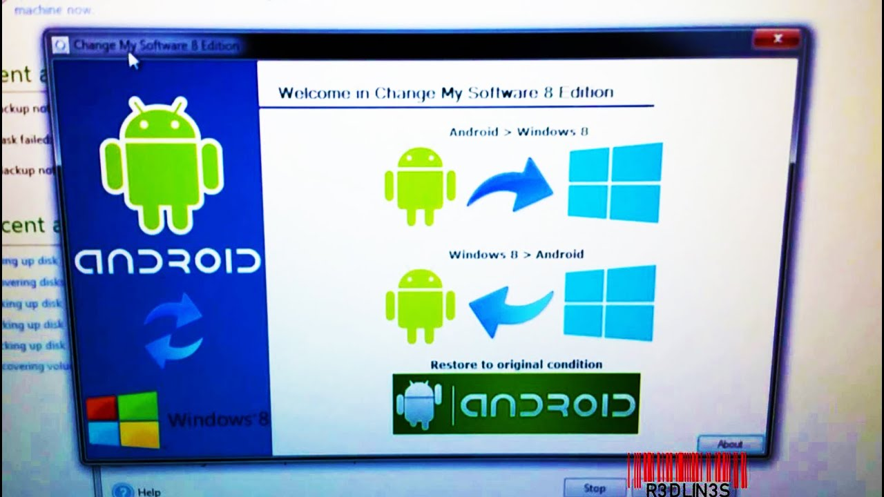 Can't attribute how to install android apps on windows phone 8 DLBCL