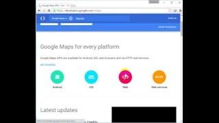 Bài 1: Google map javascript API -  Khởi tạo Google Map và chỉnh sửa cơ bản Free HD Video