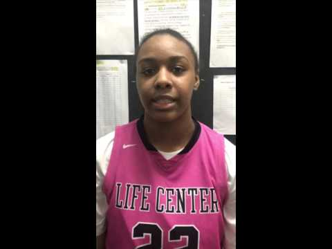 '18 Imani Lewis 6-1 Life Center Academy (NJ)