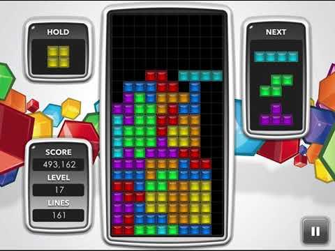 Tetris On Tetris.com - 1,212,062 Points
