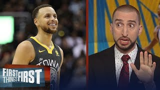 Nick Wright on Curry and what led to Houston's 41-PT Gm3 loss to Warriors | NBA | FIRST THINGS FIRST