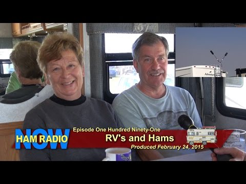 HRN 191: RV's and Hams, from Orlando on HamRadioNow