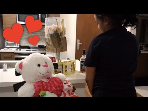 I SURPRISED MY EX GIRLFRIEND FOR VALENTINE'S DAY *FIRST ATTEMPT TO GET HER BACK*