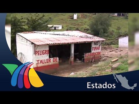 Castillos de pirotecnia   Noticias del Estado de México