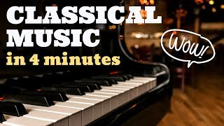 The Best of Classical Music in 4 Minutes - Piano: Daniele Leoni - Stafaband