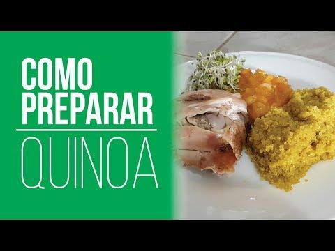 Cómo Preparar Quinoa - ¿Sirve para bajar de Peso? Almuerzo para Adelgazar