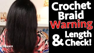 4 Inch Hair Loss! Fine Natural Hair & Crochet Braids WARNING   BorderHammer