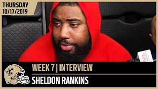 Sheldon Rankins Talks Bears Playmakers Ahead of Week 7 | New Orleans Saints Football