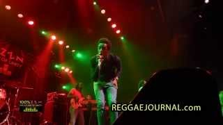 Romain Virgo - Beat You Down 2015-03-05. P60, Amstelveen, NL. Loyal Flames & Unit band. 100% ZEN.