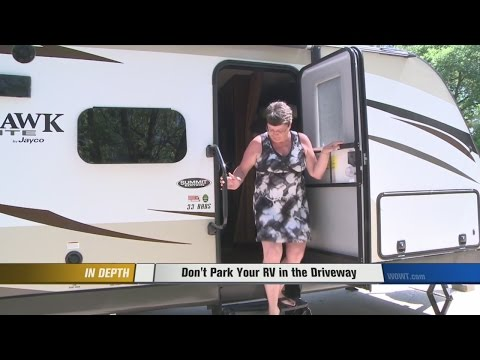 Camper owner finds out Omaha city ordinance the hard way