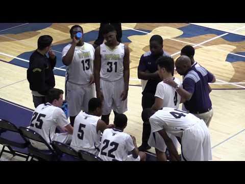 Valley Forge Military Academy JV Basketball vs Delaware County Christian School - 1.19.18