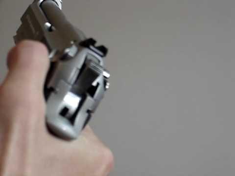 Beretta 92FS Safety Disengagement