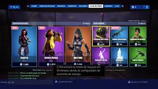 ESORTEANDO THE PASS OR A SKIN OF THE STORE - HJ FORTNITE STORE