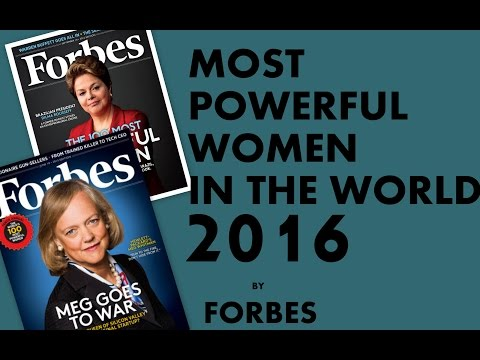 Most 10 Powerful Women in the World 2016 by FORBES Magazine