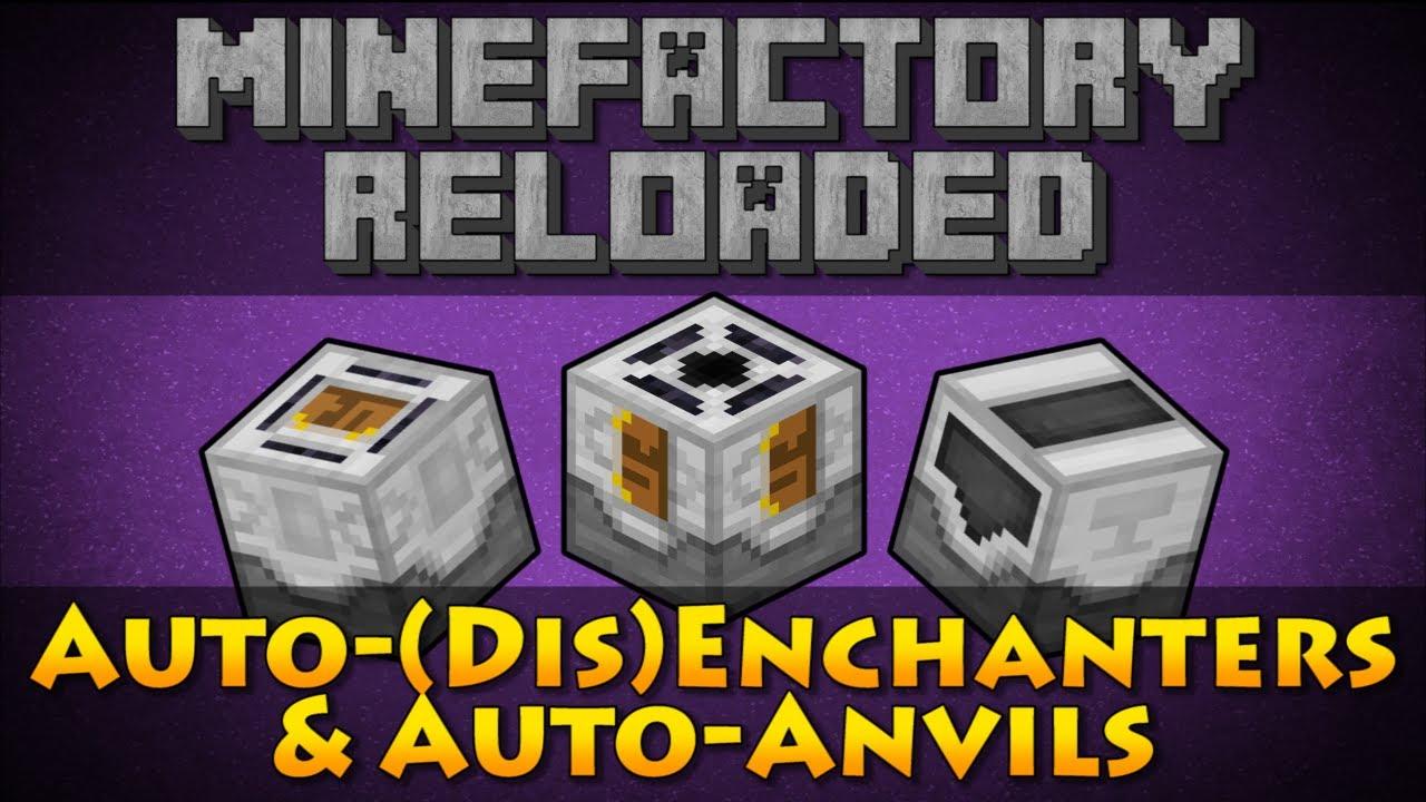 minecraft auto enchanter