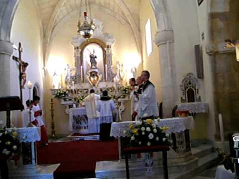 Gesico , Sardegna: Messa Tridentina del Corpus Domini 2009