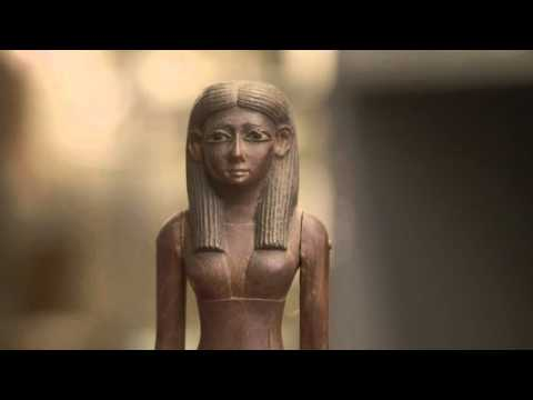 An Egyptian Figure of a Lady
