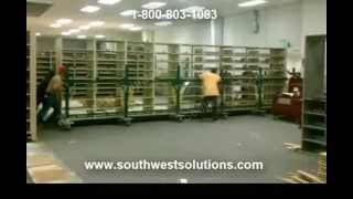 Relocating Fully Loaded Book Ranges | Library Shelving Movers | Moving Book Shelves Thumbnail