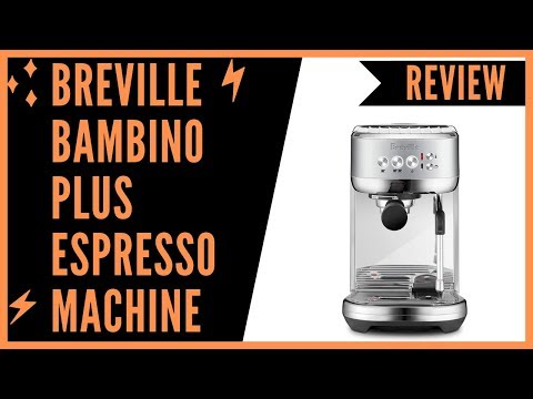 Breville BES500BSS Bambino Plus Espresso Machine Brushed Stainless Steel - Review