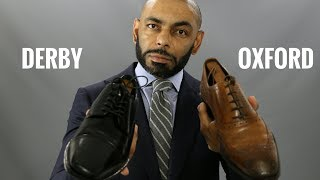 Oxford And Derby Shoes, What's The Difference?/Oxford Vs. Derby