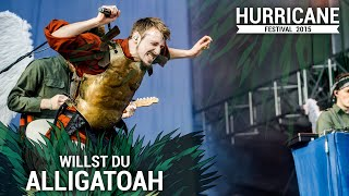 ALLIGATOAH - Willst Du (Live At Hurricane Festival 2015)