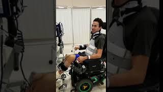 Robert Wickens Rehab - Bike simulation