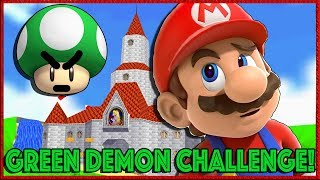 Green Demon Challenge! Bob-omb Battlefield  - Super Mario 64